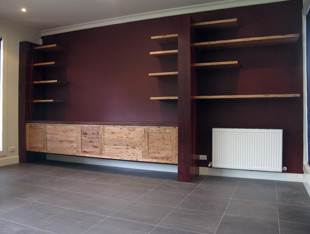 Full Wall Bookshelf