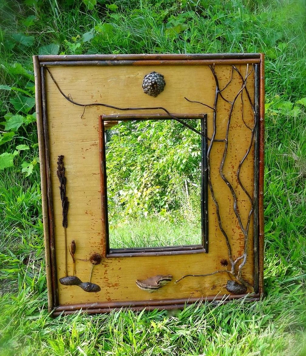Garden Wall Art Mirrors