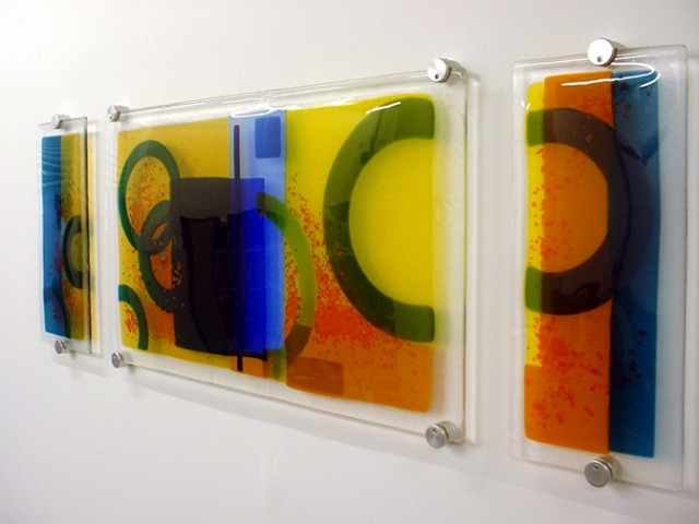 Glass Wall Art Panels