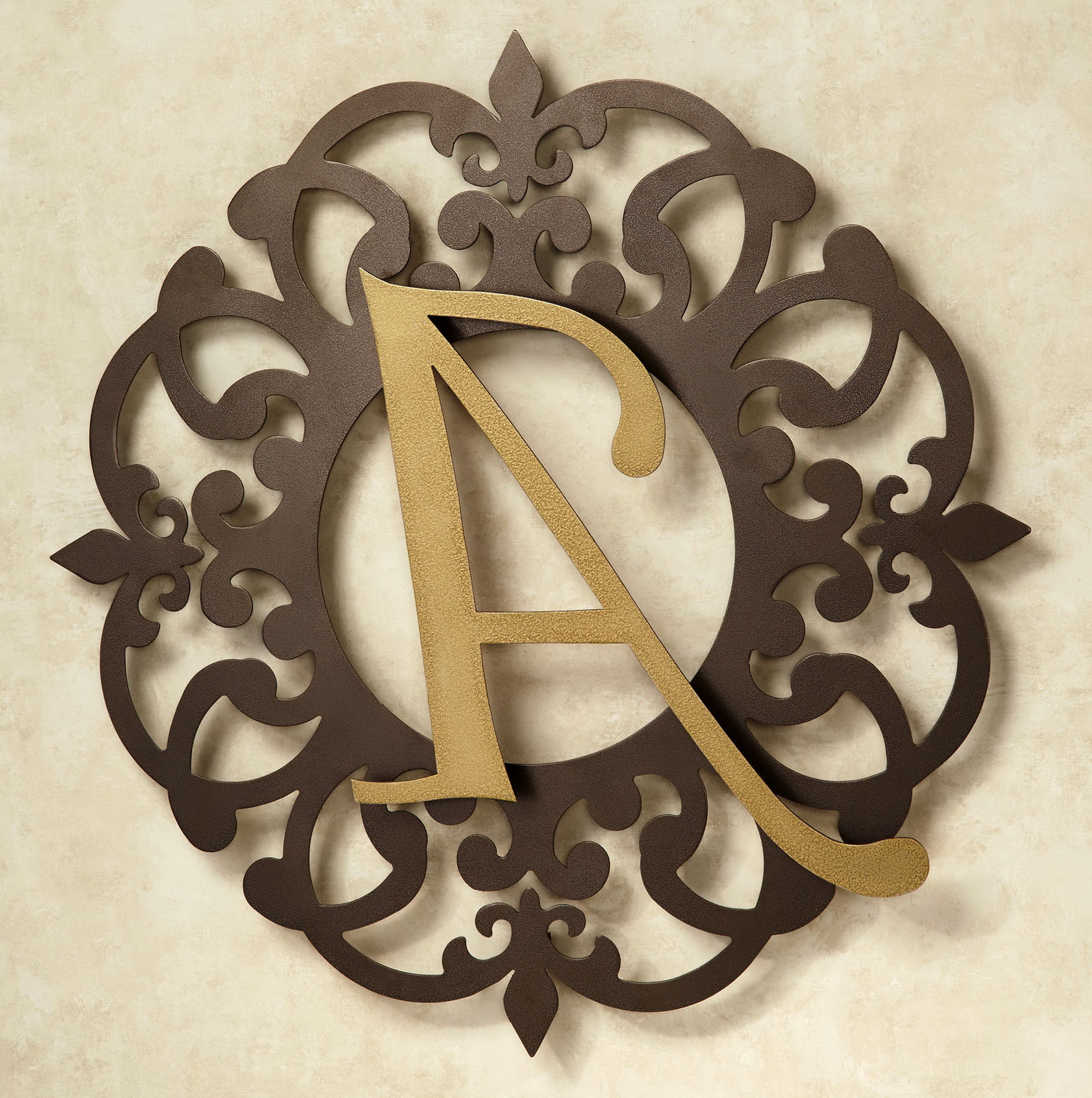 Gold Letter Wall Art