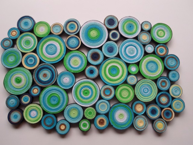 Green And Blue Wall Art