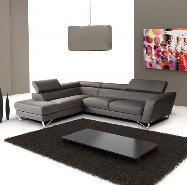 Grey Leather Sofa Design Ideas