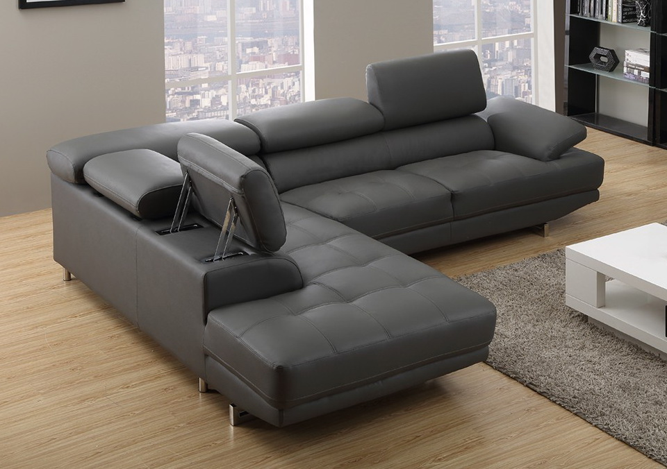Grey Leather Sofas Uk