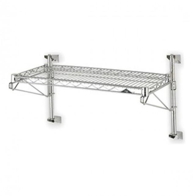 Industrial Wire Wall Shelf