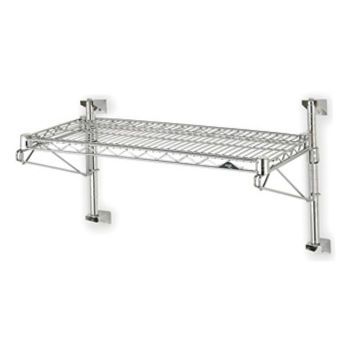 Industrial Wire Wall Shelf