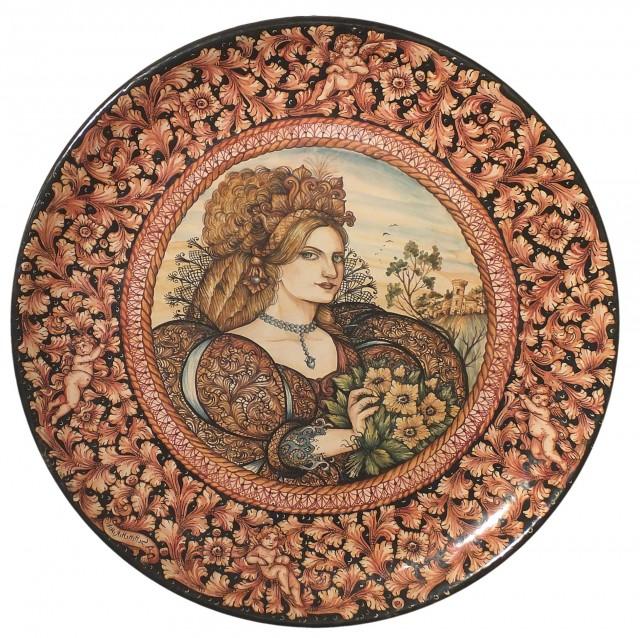 Italian Ceramic Wall Art