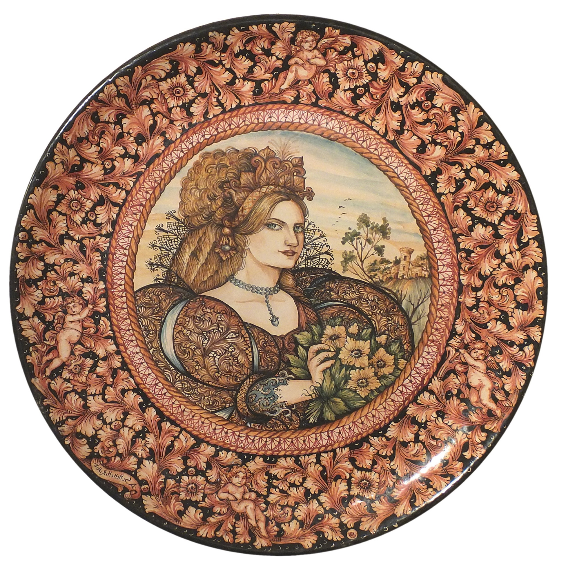 Italian Ceramic Wall Art