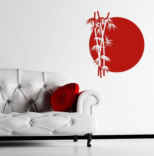 Japanese Wall Art Stickers