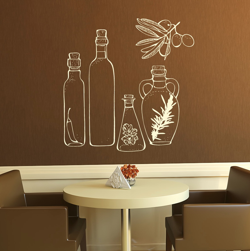Kitchen Wall Art Decals