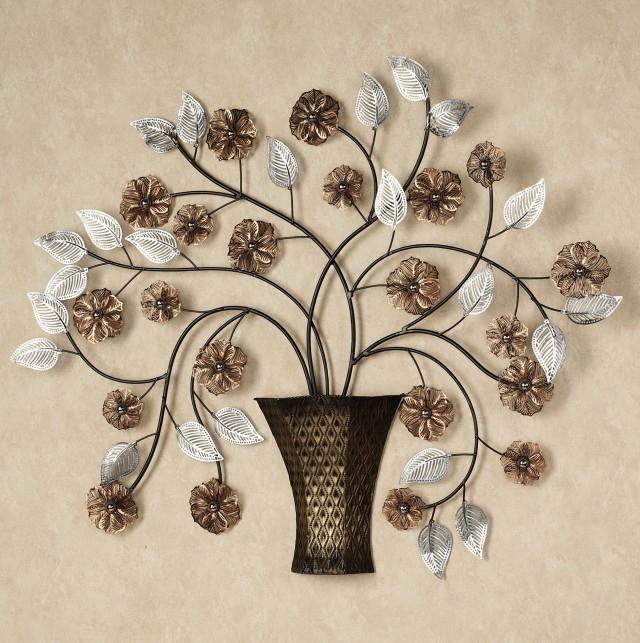Large Metal Flower Wall Art
