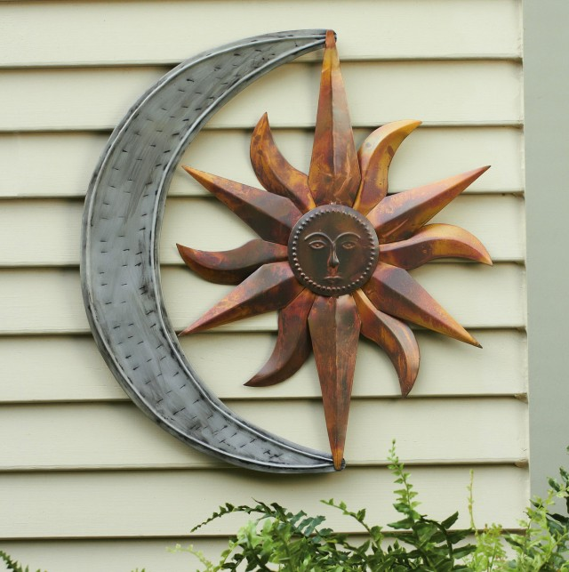 Large Metal Outdoor Wall Art