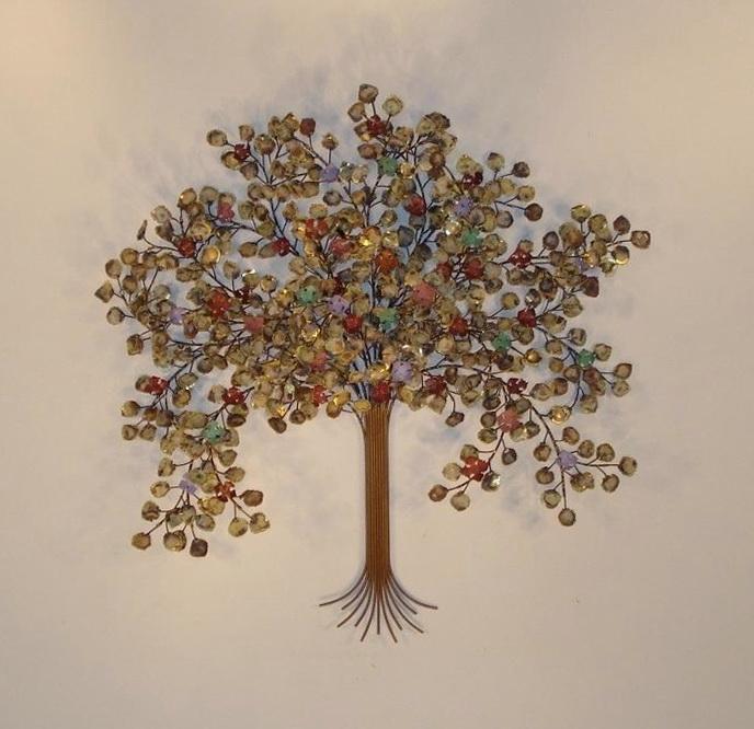 Large Metal Tree Wall Art
