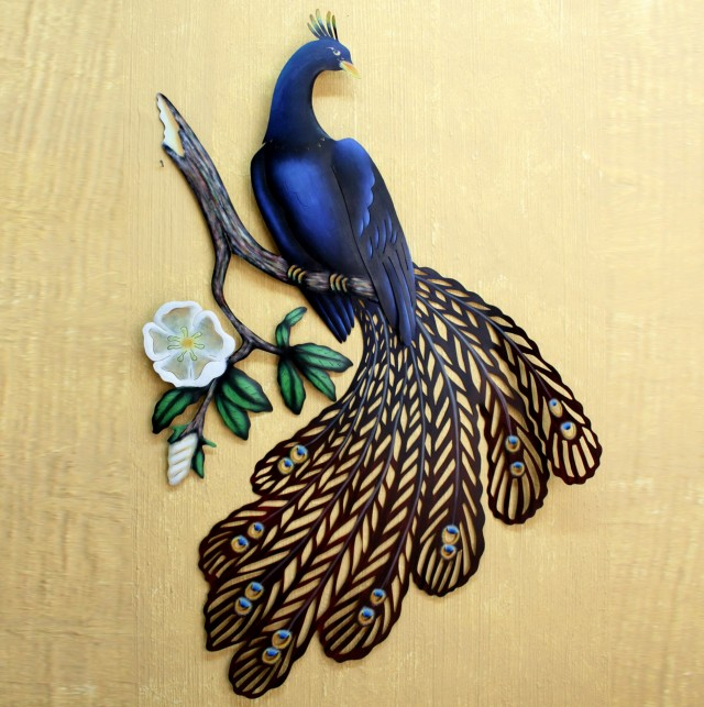 Large Peacock Wall Art