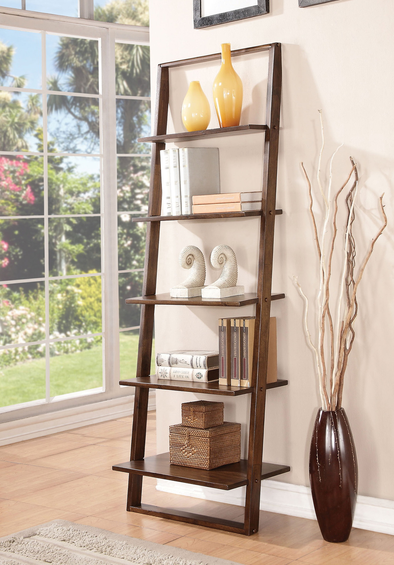 Leaning Wall Shelf Diy