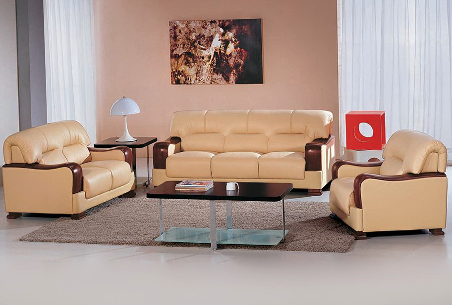 Leather Sofa Set Designs
