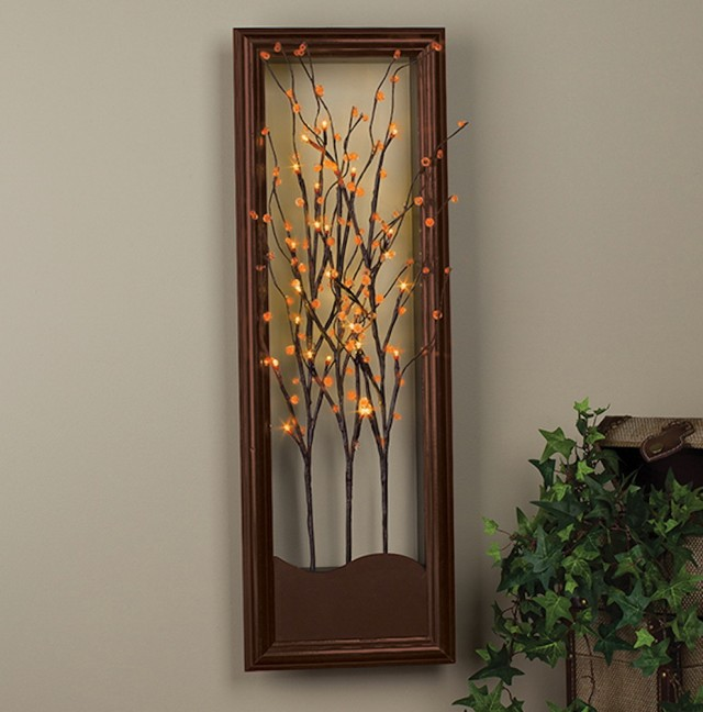 Lighted Wall Art With Timer