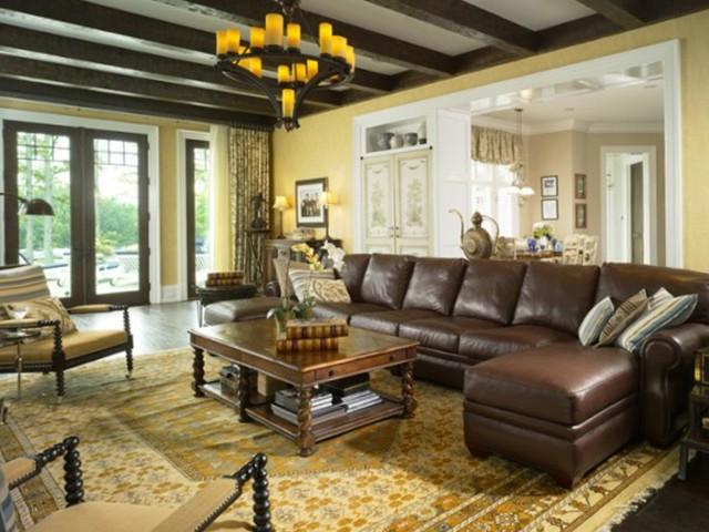 Living Room Sofas Traditional