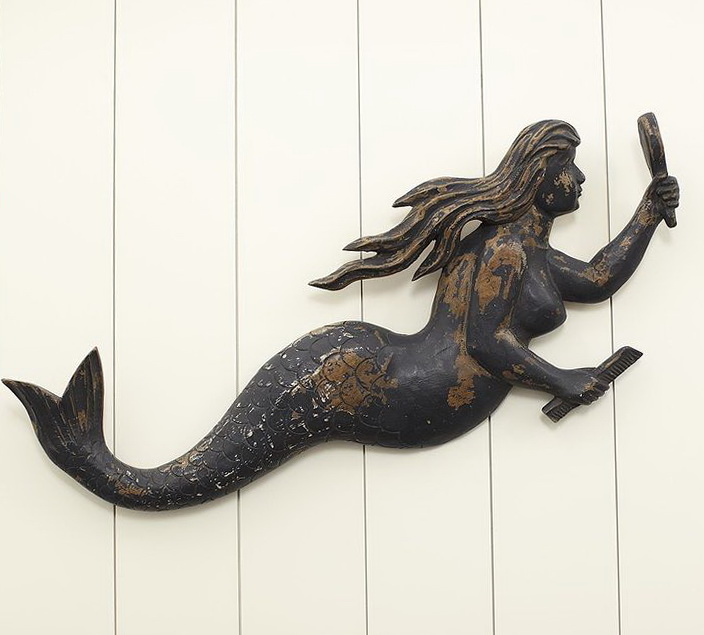 Mermaid Wall Art Pottery Barn