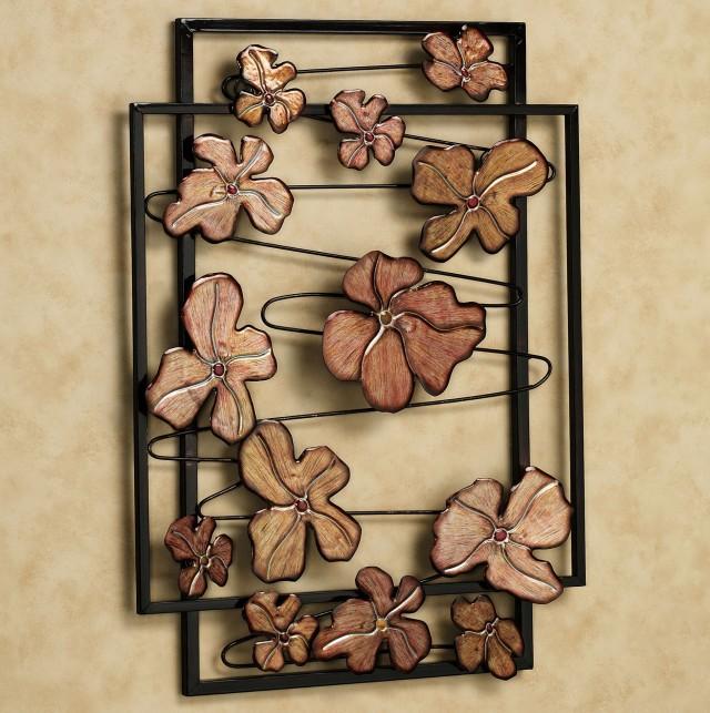 Metal Floral Wall Art