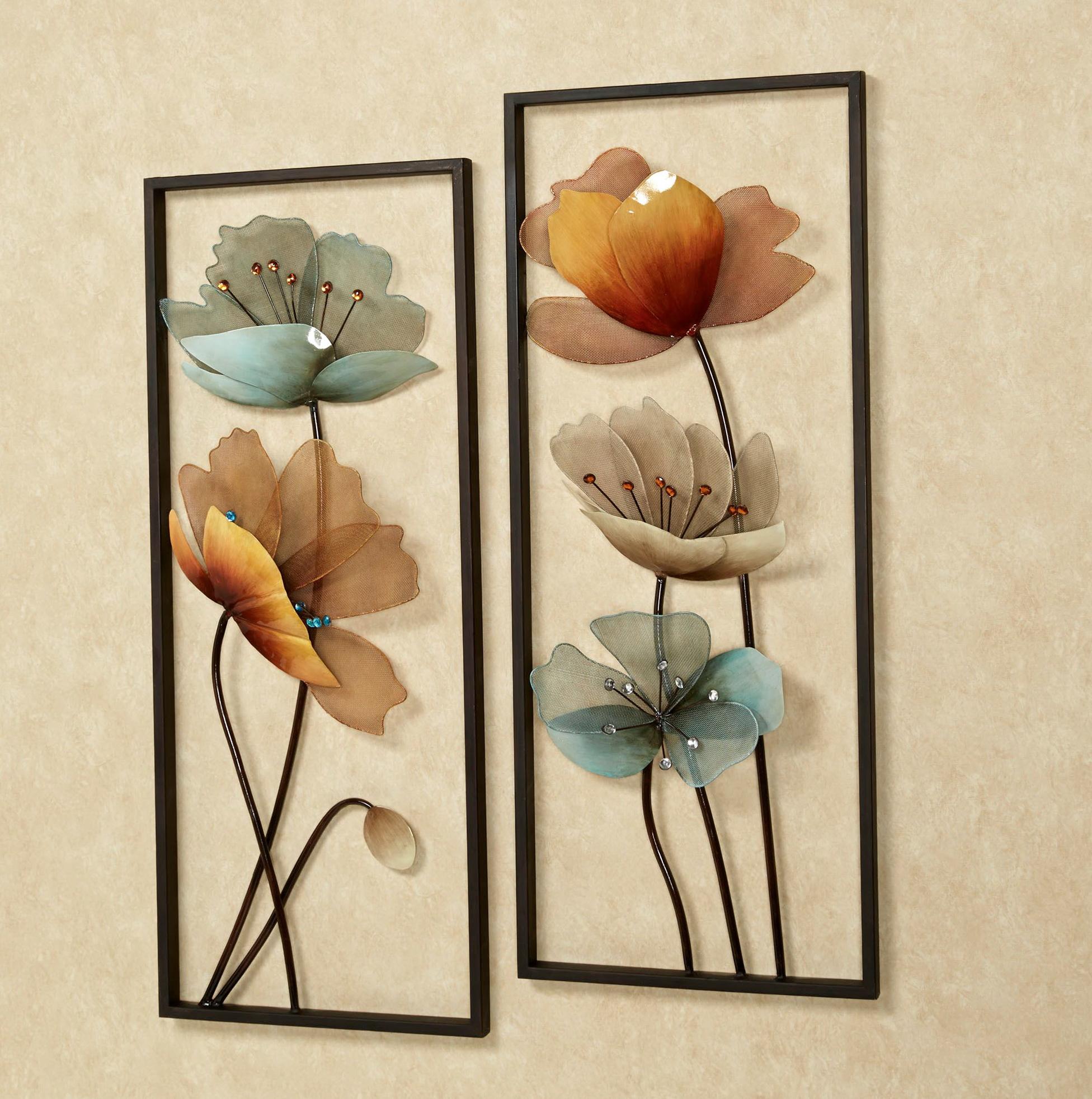 Metal Flower Wall Art Nz