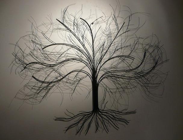 Metal Wall Art Tree