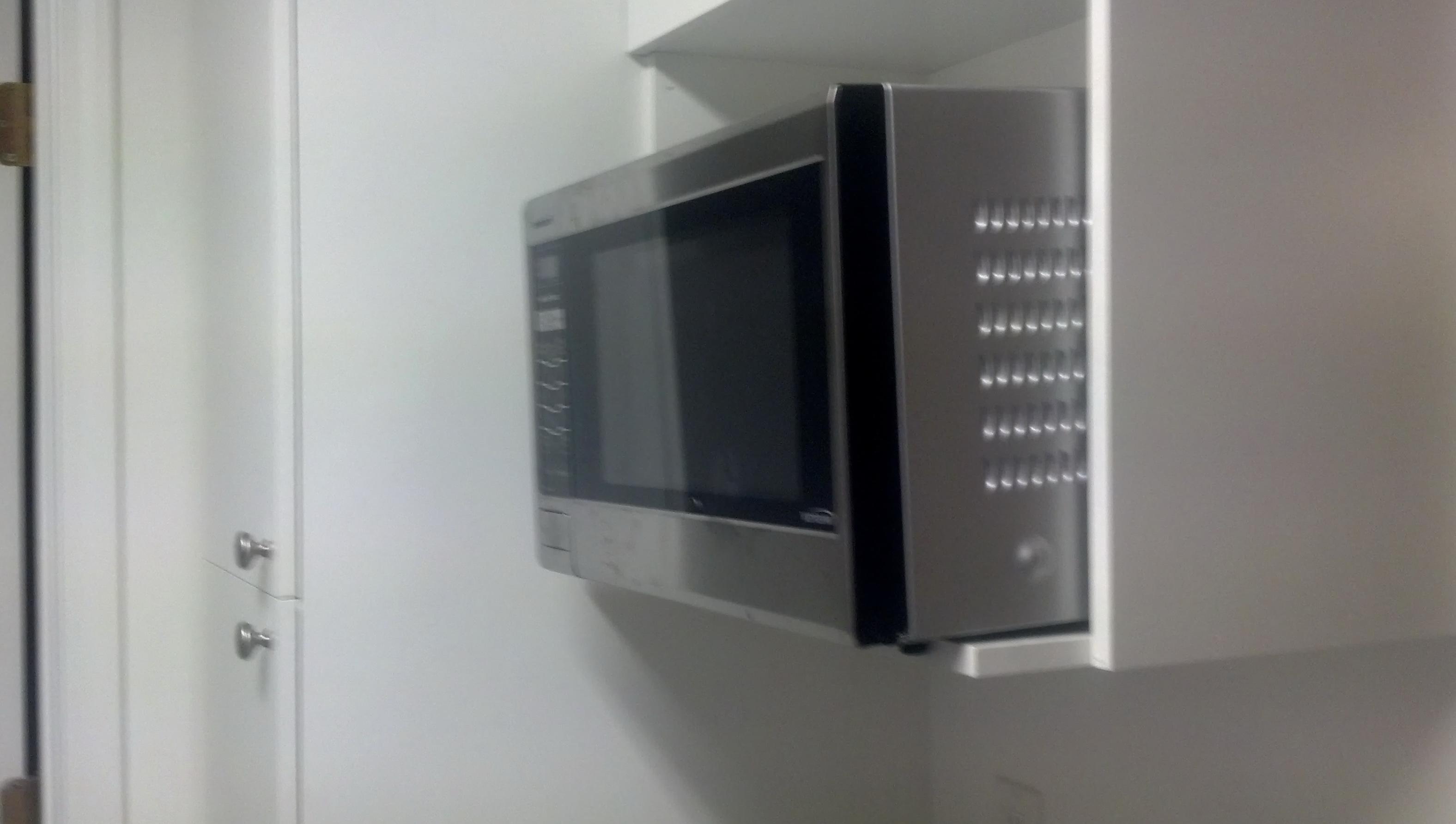 Microwave Wall Shelf White