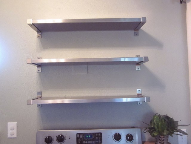 Microwave Wall Shelves
