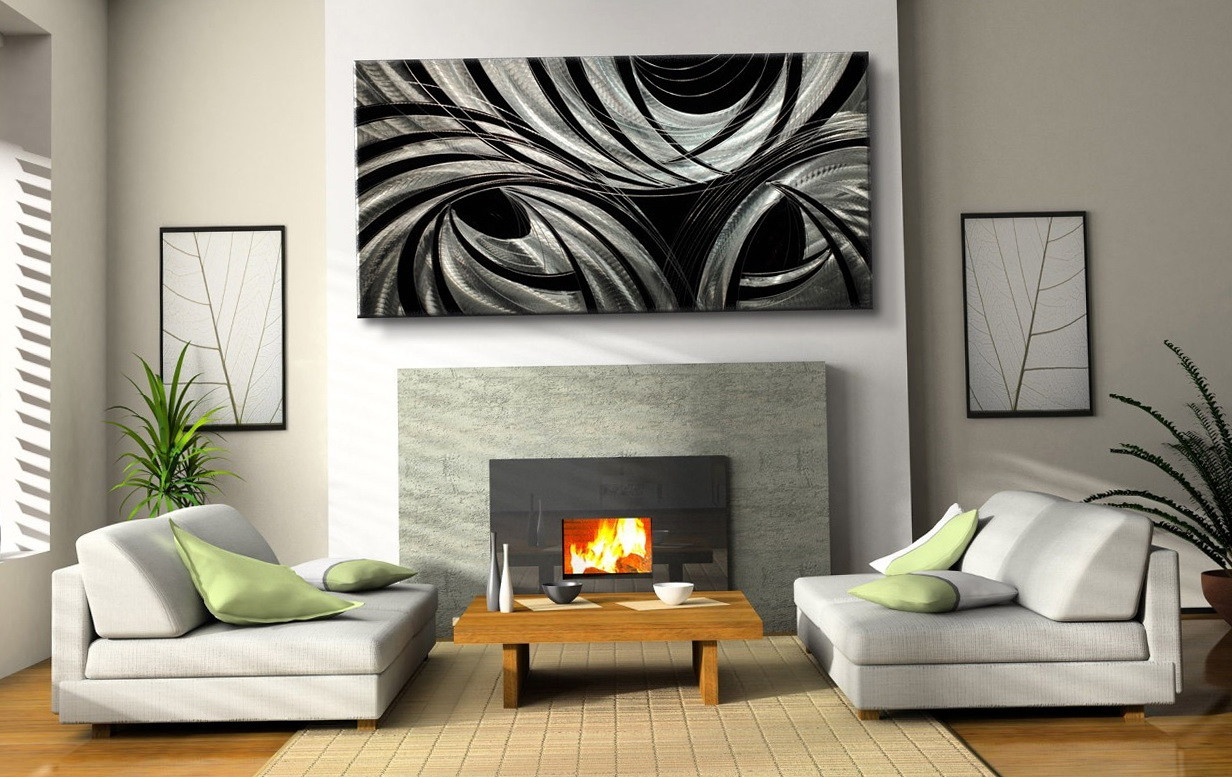 Modern Abstract Metal Wall Art