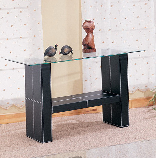 Modern Black Sofa Table