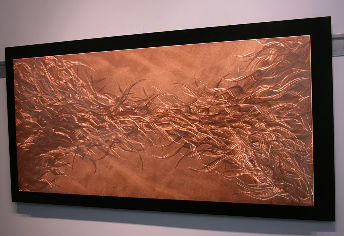 Modern Copper Wall Art
