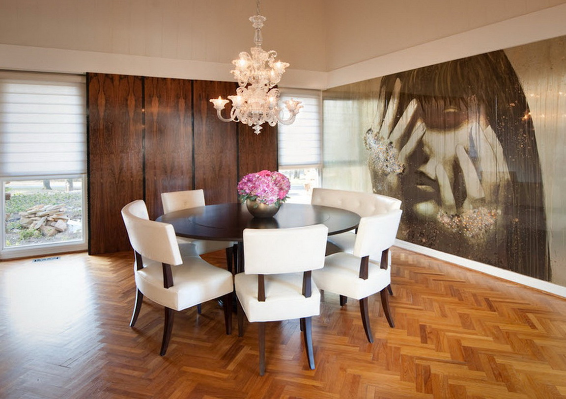 Modern Dining Room Wall Art