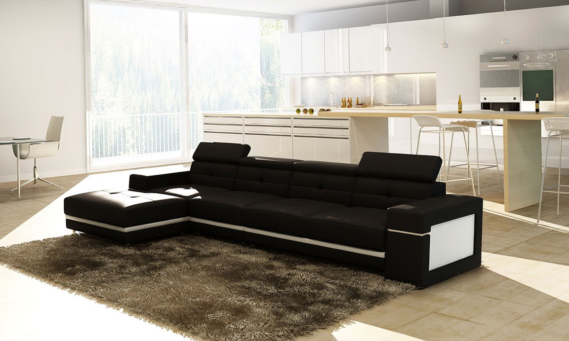 Modern Sectional Sofa Dimensions