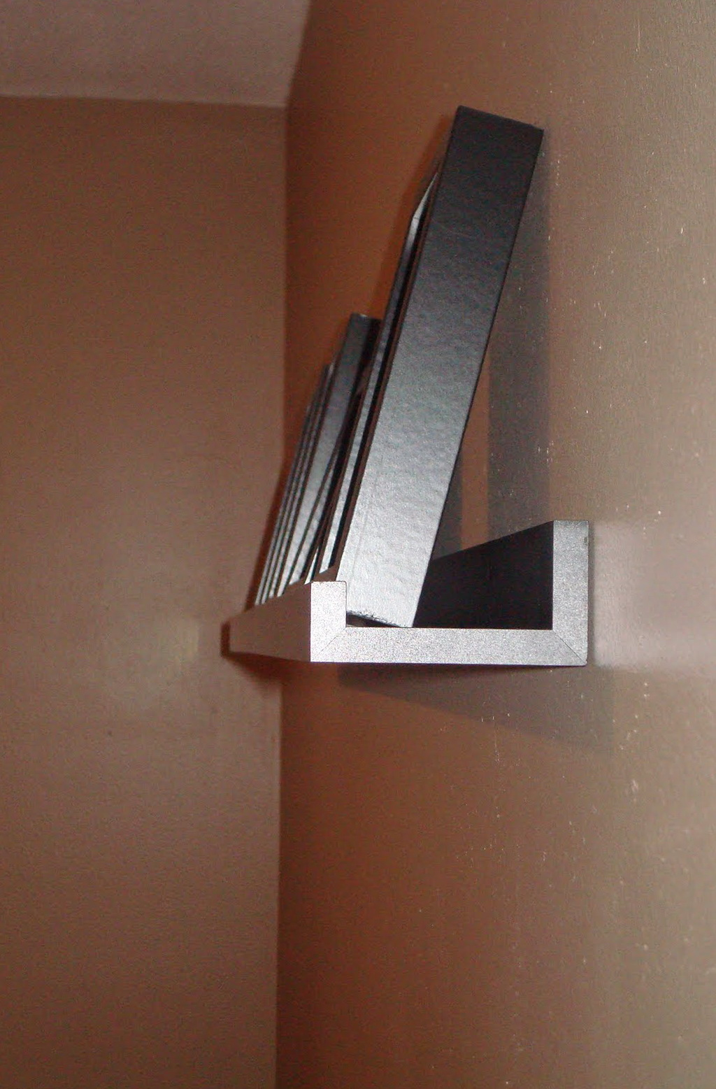 Narrow Wall Shelf With Lip