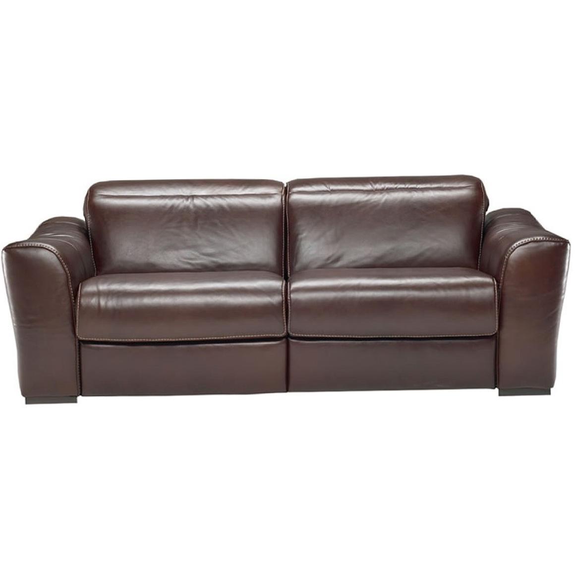 Natuzzi Leather Recliner Sofa