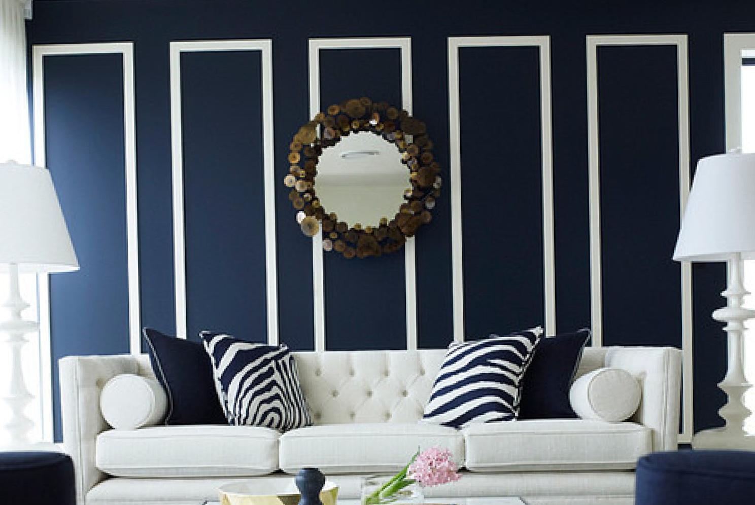 Navy Blue Wall Art
