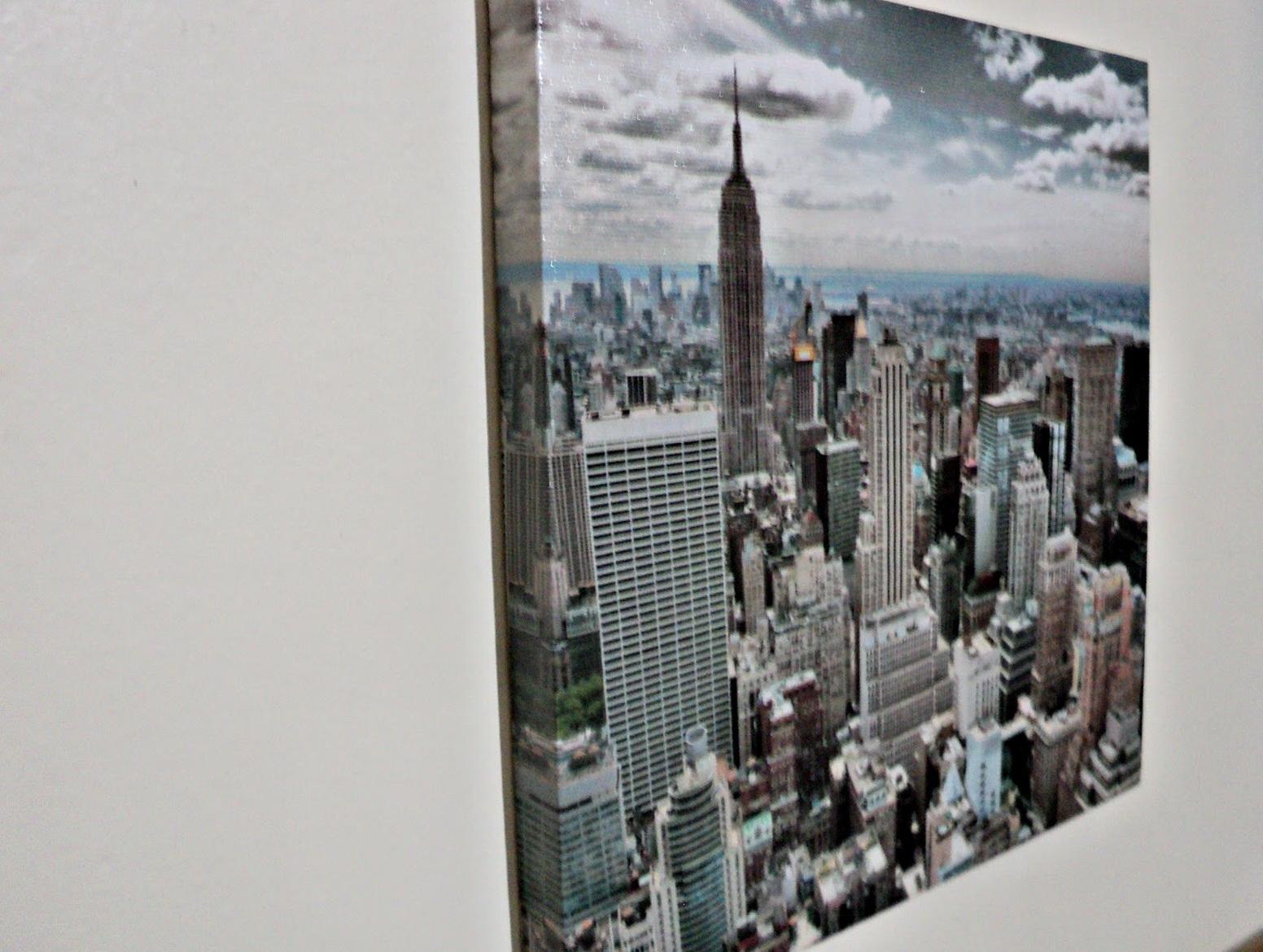 New York London Paris Wall Art