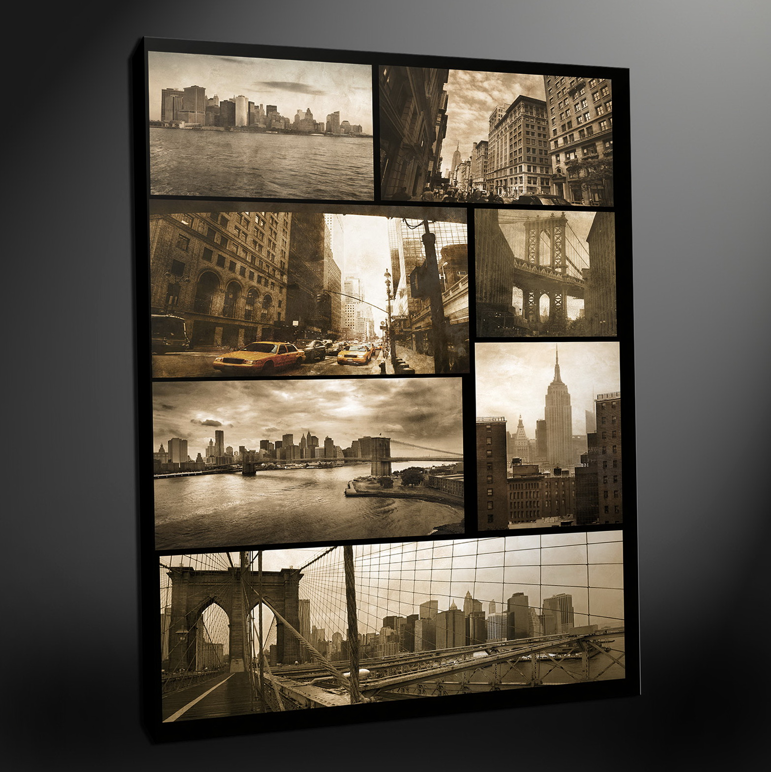 New York Wall Art Canvas