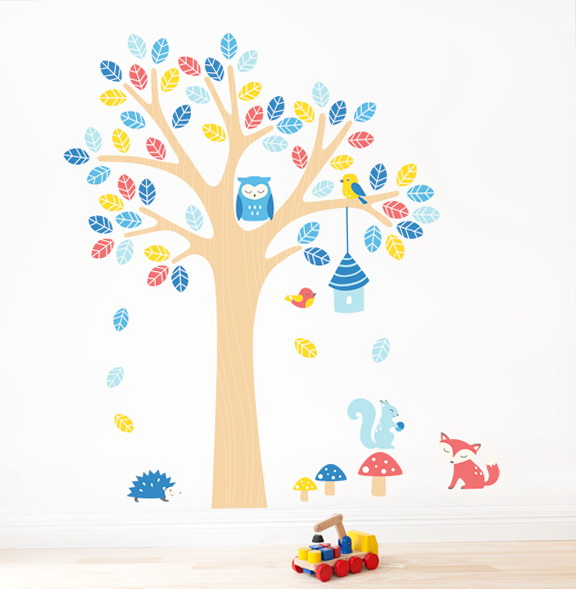 Nursery Wall Art Stickers