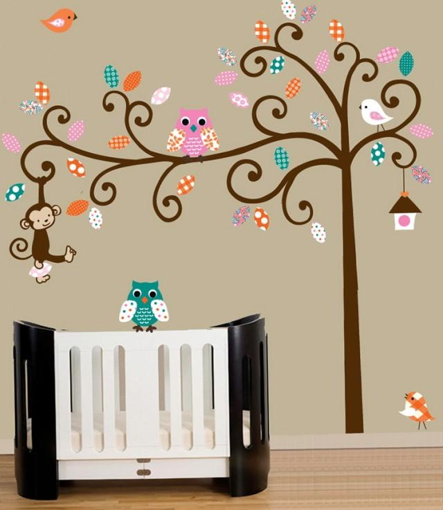 Nursery Wall Art Tree