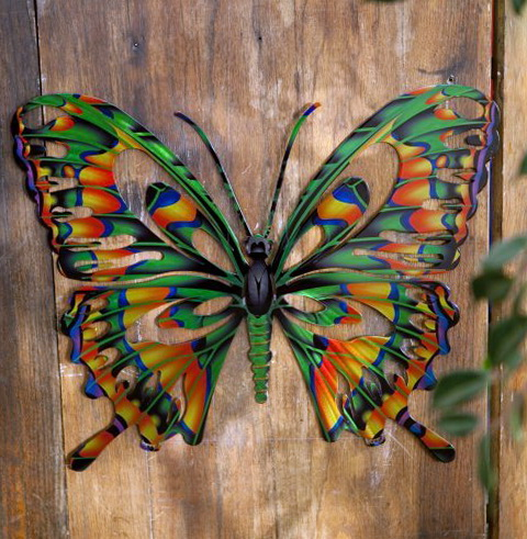 Outdoor Metal Wall Art Decor
