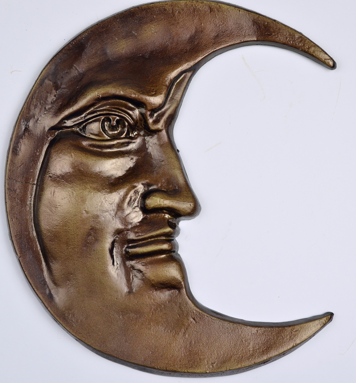 Outdoor Metal Wall Art Moon