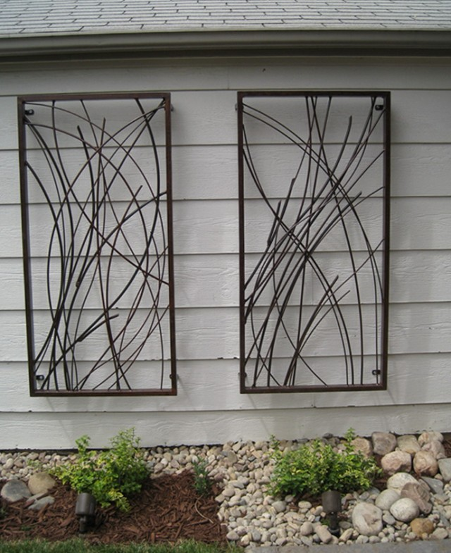 Outdoor Wall Art Ideas