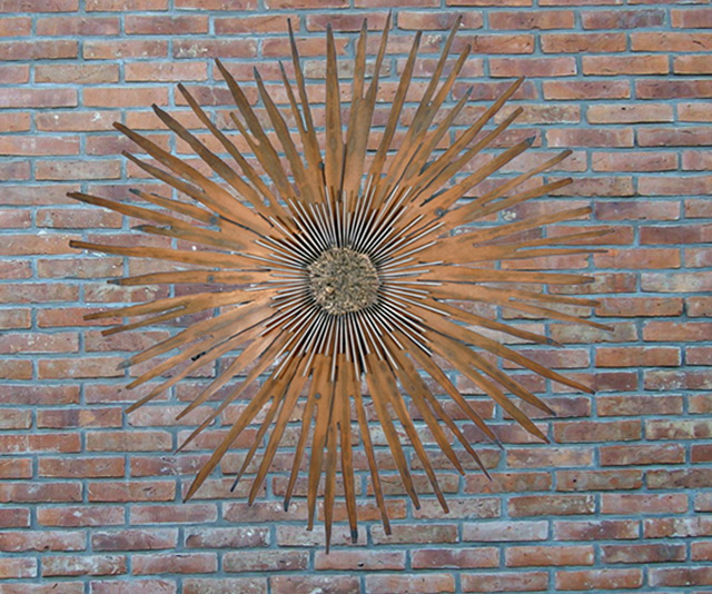 Outdoor Wall Art Metal Large