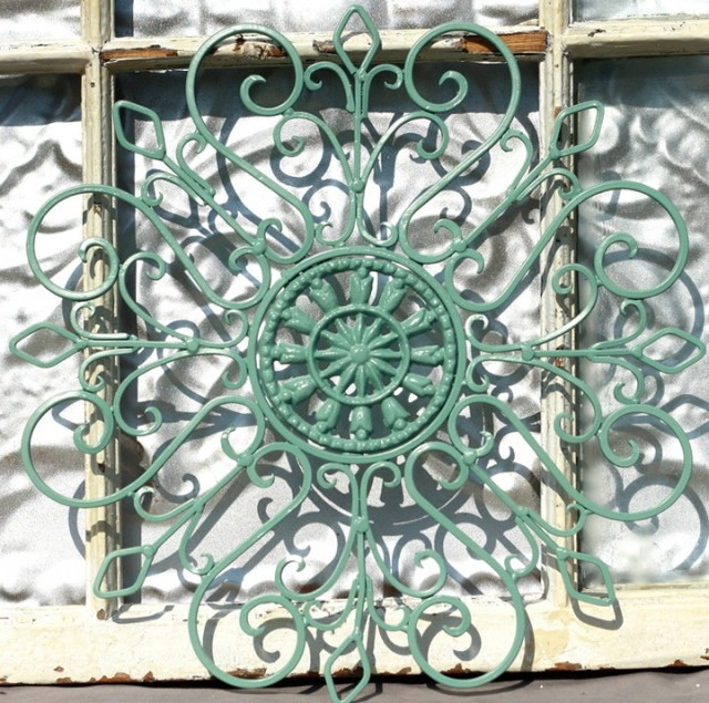 Outdoor Wrought Iron Wall Art