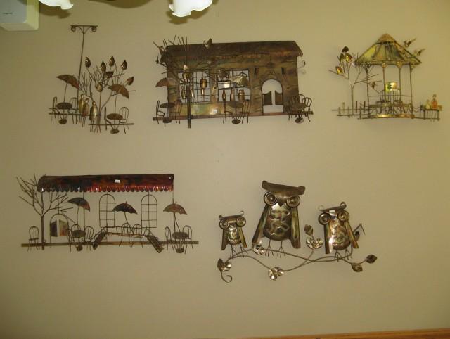 Owl Wall Art Metal