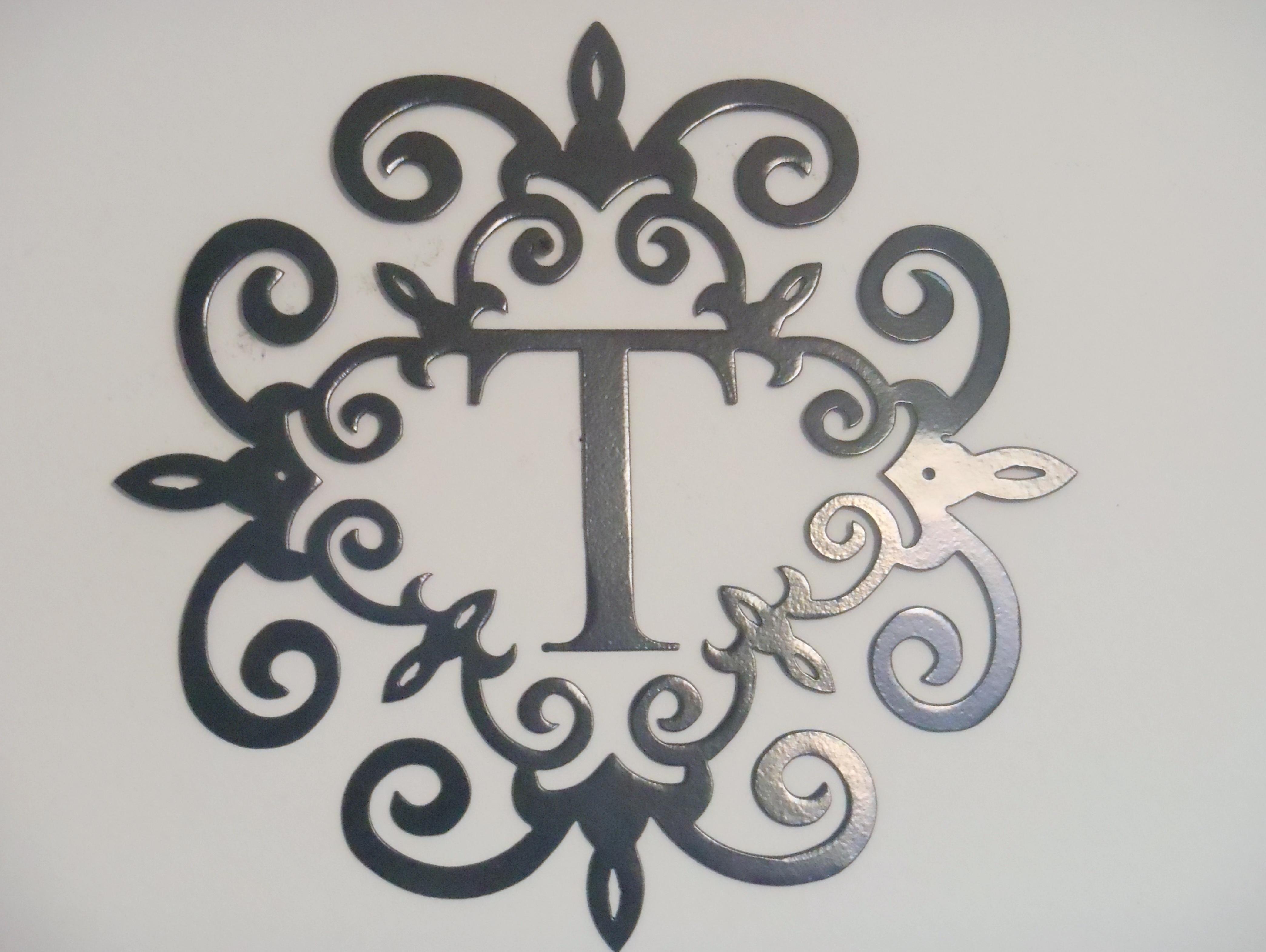 Personalized Monogram Wall Art