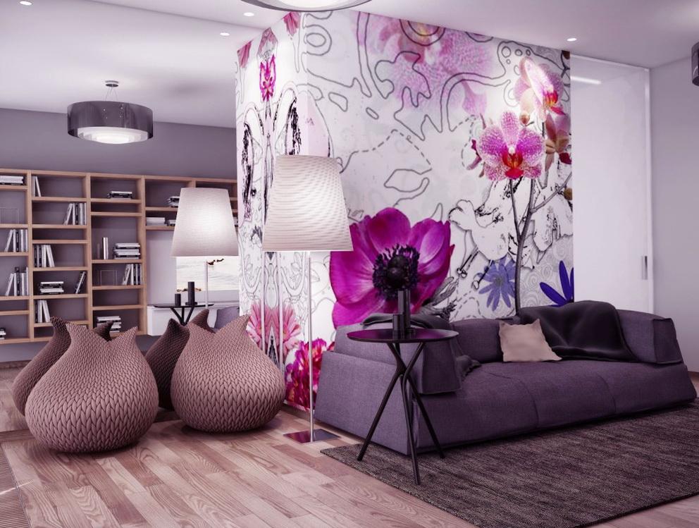 Pink And Purple Wall Art
