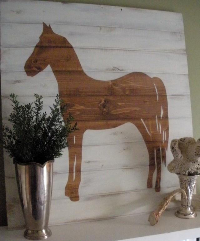 Pottery Barn Horse Wall Art
