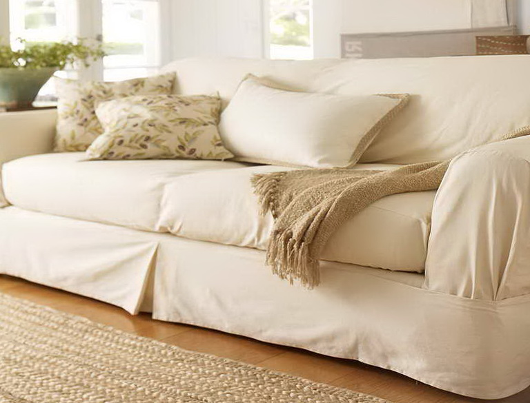 Pottery Barn Sofas With Slipcovers