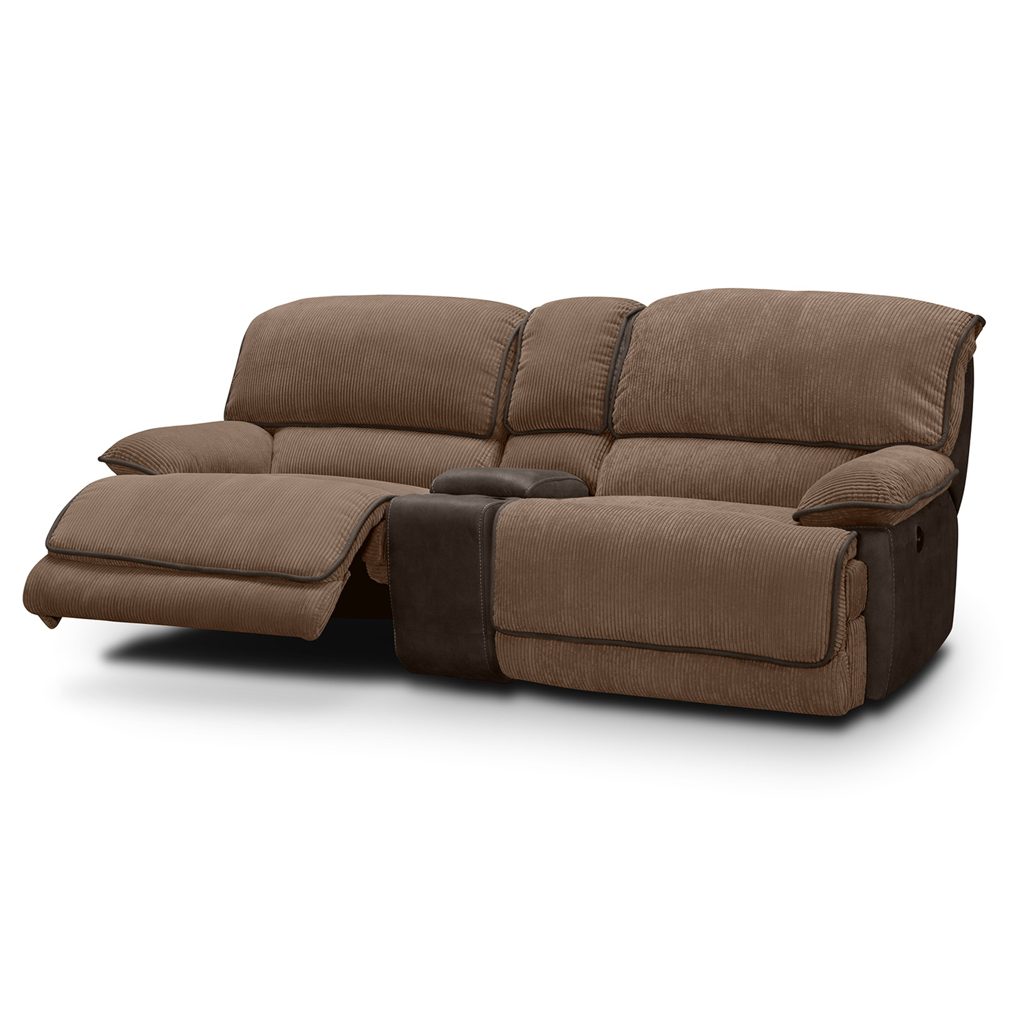 Dual Power Reclining Sofa Sofa 11584 Home Design Ideas